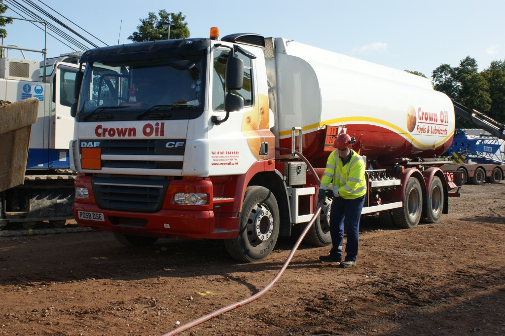 removing unwanted fuel from a site