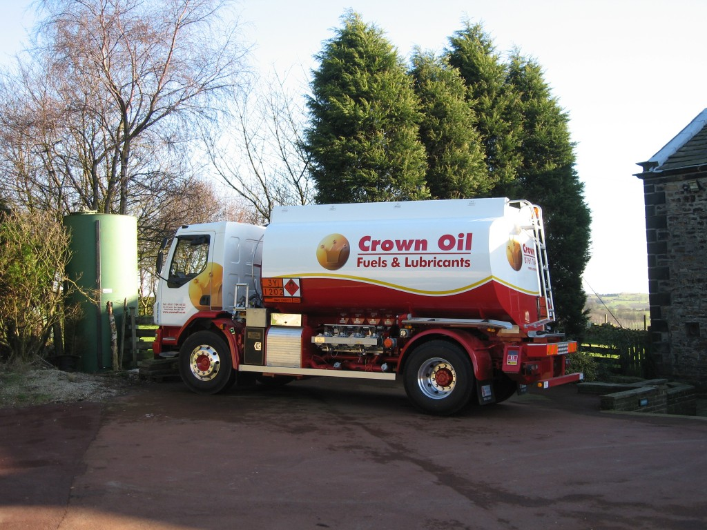 Heating Oil delivery from Crown Oil