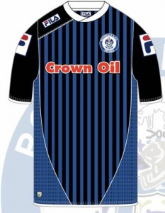 Rochdale AFC home jersey
