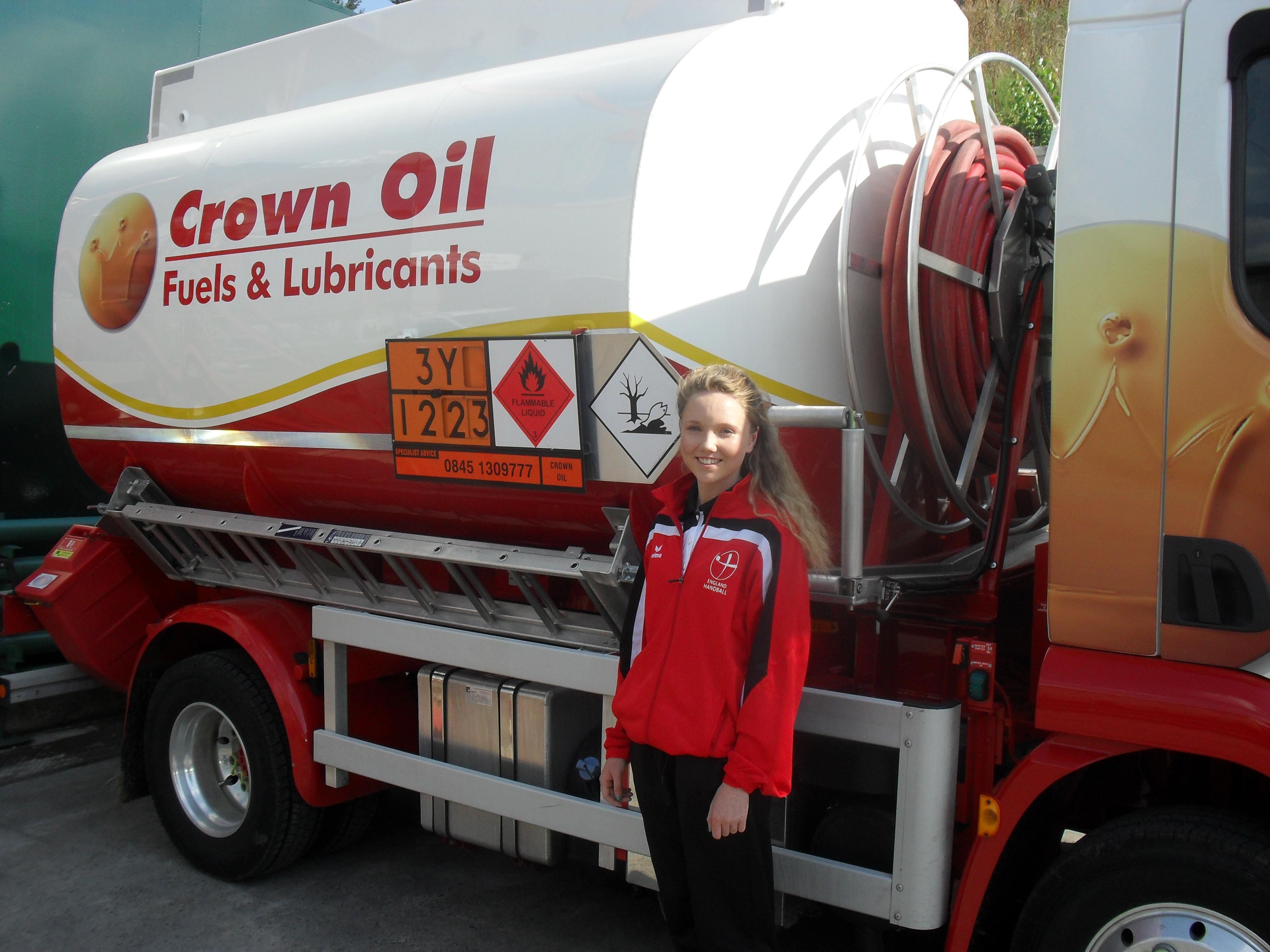 Crown Oil Backing Local Handball Player; Caitlin Matthews