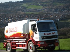 Truck Delivering Cheap Heating Oil