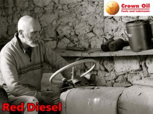 Red Diesel Ride-on Mower