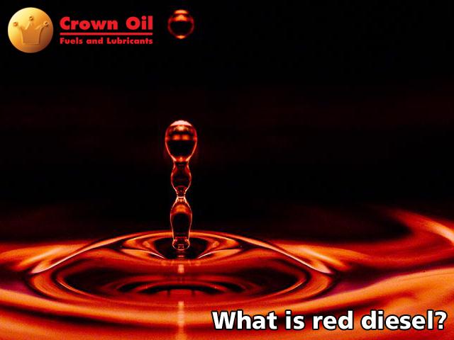 What is red diesel?
