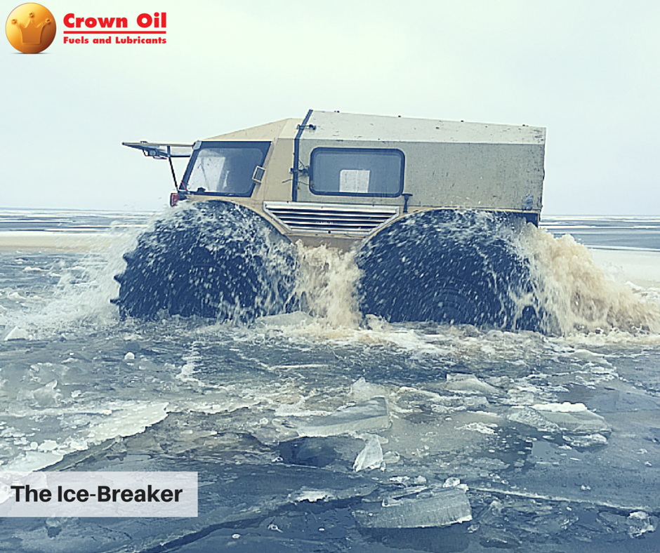 Sherp ATV - Driving over ice and water