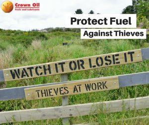 Prevent Red Diesel Theft