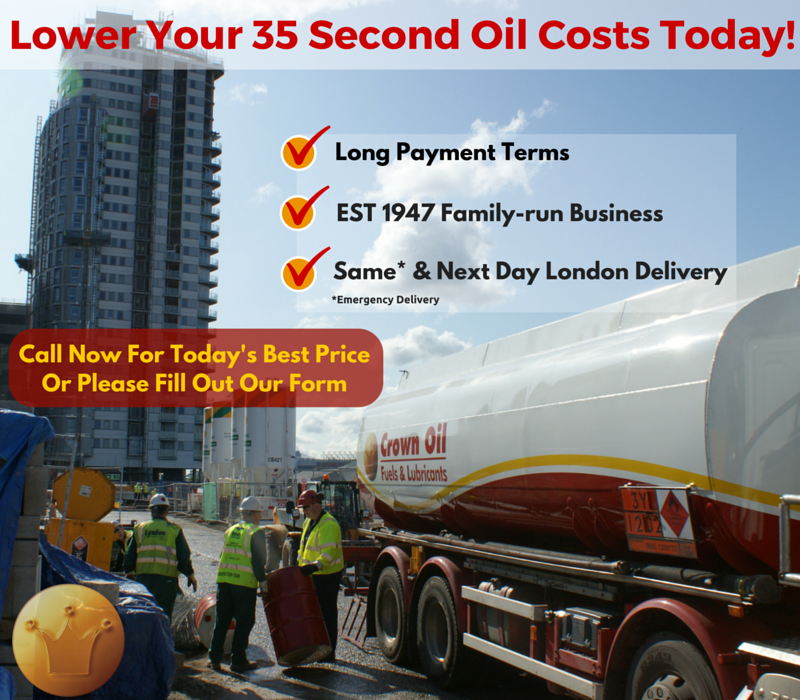 london 35 sec oil supplier
