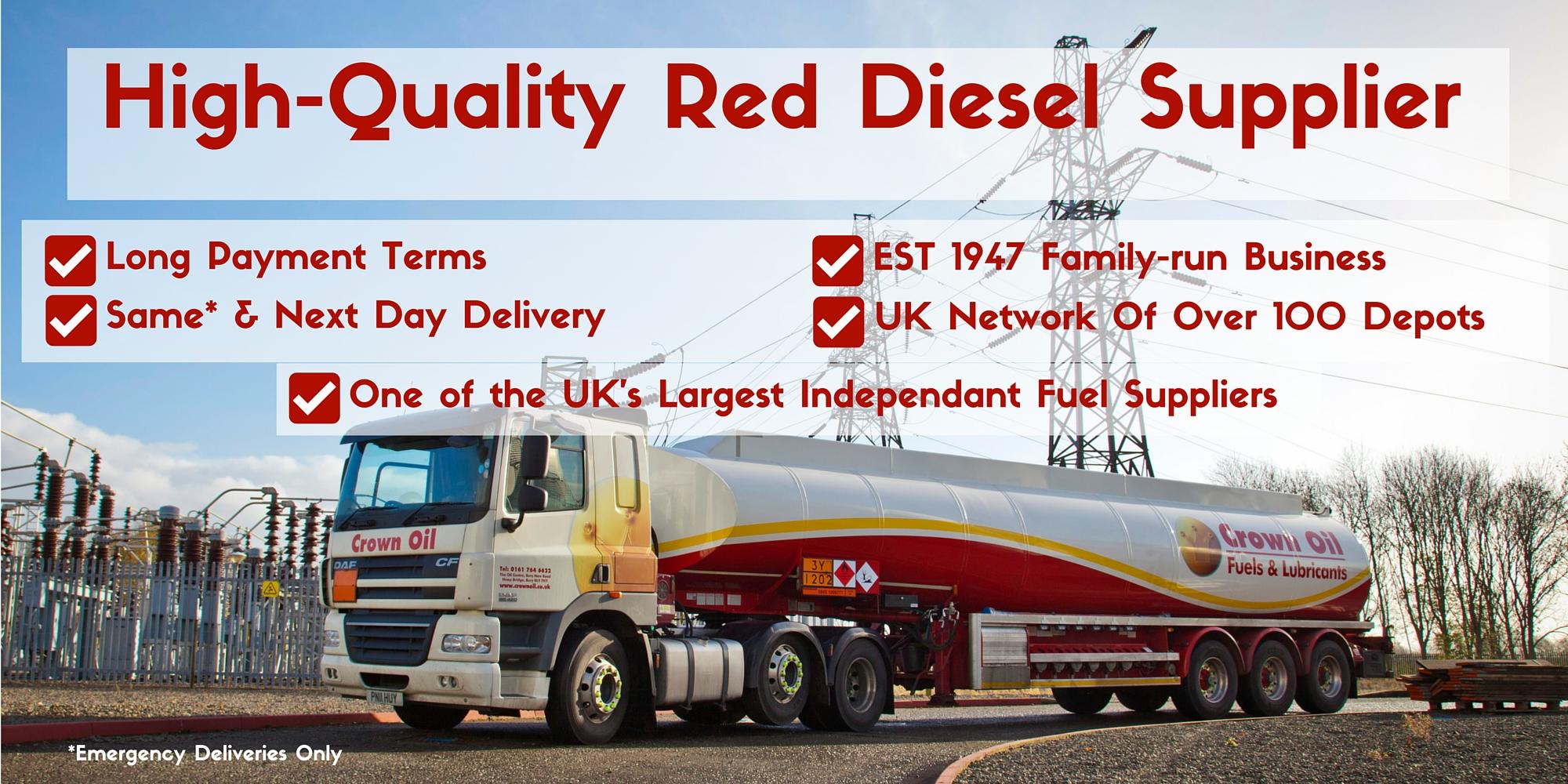 High-Quality Red Diesel Supplier