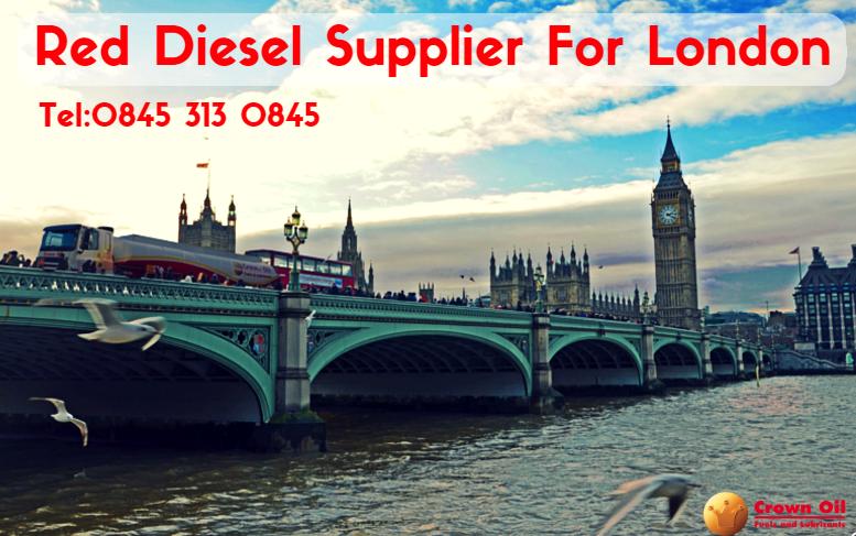 red diesel supplier in London