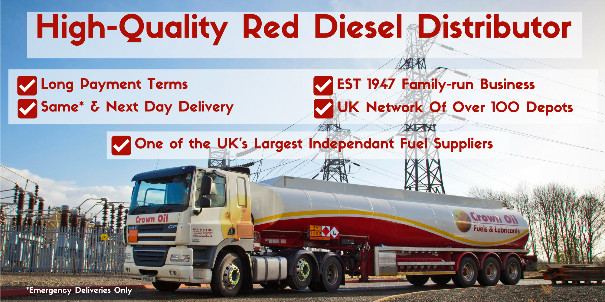 High-Quality Red Diesel Distributor