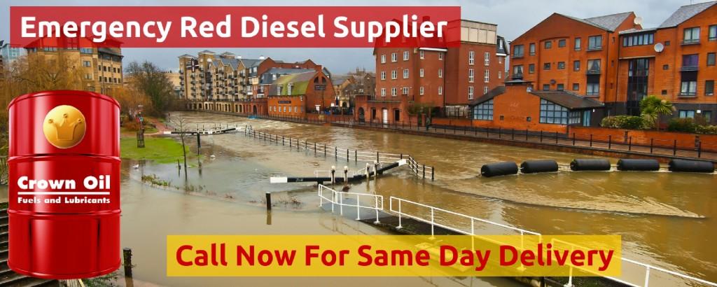 Emergency Red Diesel fuel Supplier