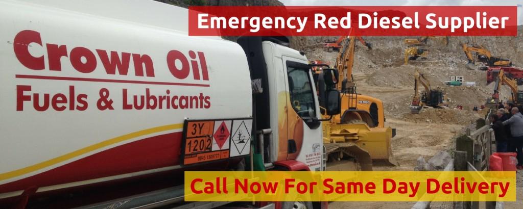 emergency red diesel