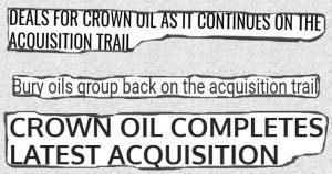 Crown Oil buys Beesley Fuels