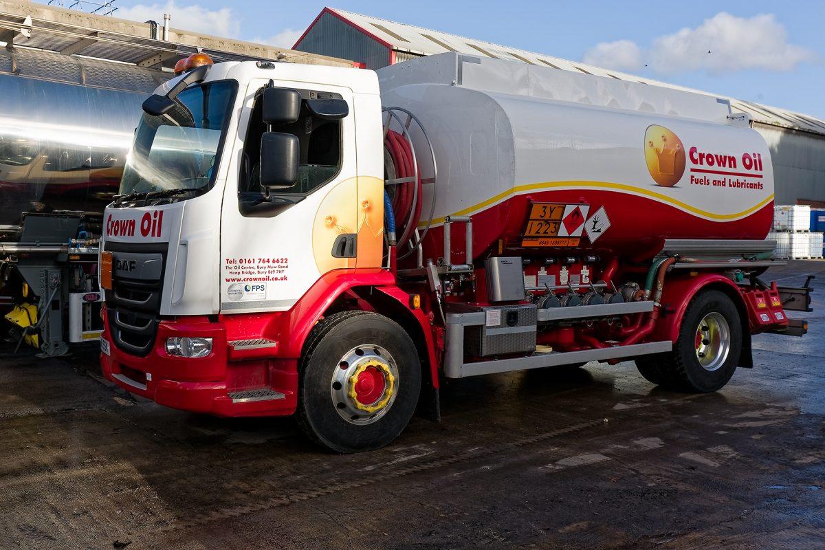 Crown Oil Red Diesel