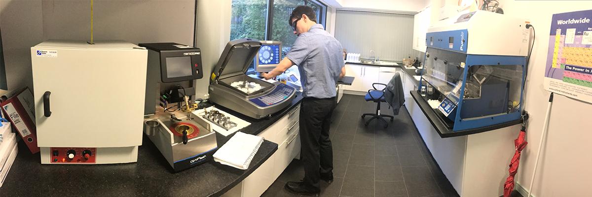 fuel testing lab
