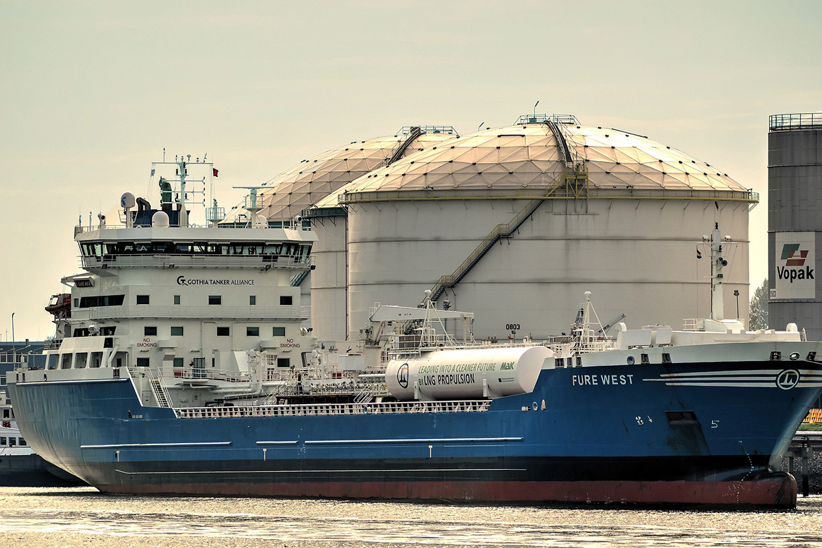 Bunker Fuels Oil Tanker
