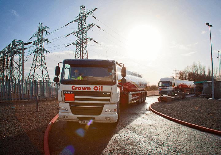 Diesel fuel delivery - Crown Oil