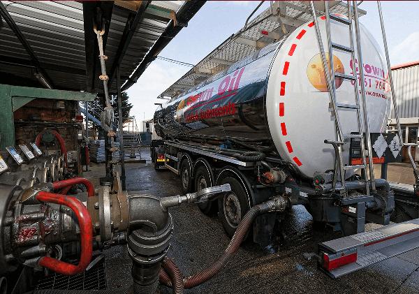 Fuel uplift - Crown Oil
